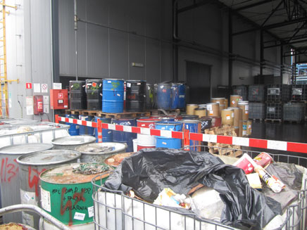 hazardous waste deutsch